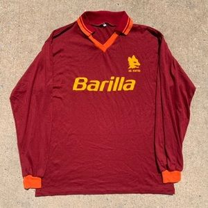 As Roma Barilla Vintage Jersey Shirt